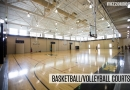 Basketball/Volleyball Courts