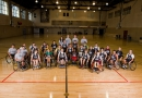Tiger Wheelchair Basketball Camp 2010 in Brewer Fieldhouse