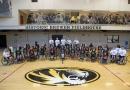 Wheelchair Basketball, Camp, group photo, Jordan Liekweg, July, Summer, Brewer