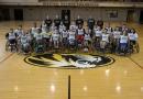 Mizzou Wheelchair Basketball, camp, brewer courts, summer, Jordan Liekweg, Team Photo
