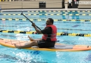 Aquatics, Jennifer Seris, Testing, Fun, Professional Staff, Staff, Competition Pool, Paddle boards
